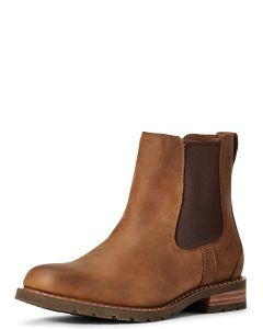 Women's Ariat Wexford Chelsea Boot, Weathered Brown
