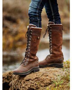 Ariat Women's Wythburn Tall H2O - Dark Brown - 10038286