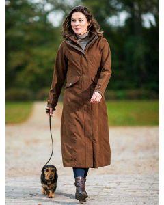 Baleno Kensington Full Length Waterproof Coat, Earth Brown
