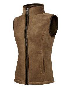 Baleno Sally Ladies Fleece Waistcoat - Camel