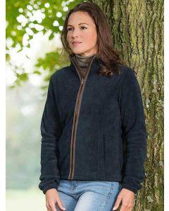Women's Baleno Sarah Full Zip Fleece Jacket, Navy Blue