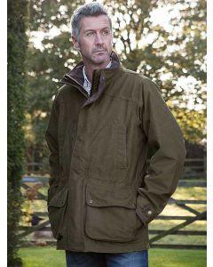 Baleno Derby Men's Field Coat, Pine Green