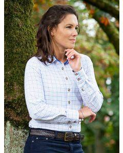 Baleno Nina Pink & Blue Checked Country Shirt