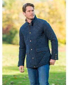 Men's Baleno Hatfield Quilted Jacket, Navy Blue