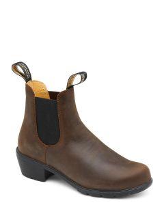 Blundstone 1673 Women's Heeled Boot, Antique Brown