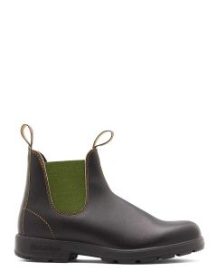Blundstone 519 Original Leather Chelsea Boot - Brown/Olive
