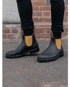 Blundstone 519 Original Leather Chelsea Boot - Brown/Mustard