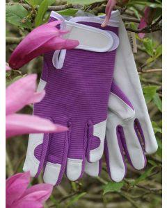 Women's Briers Smart Gardener Leather Palm, Gloves