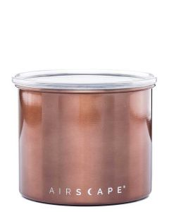 """Airscape Small 4"""" Food Storage Canister, Mocha"""