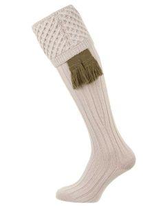 The Chelsea 'Stone' Merino Wool Shooting Sock