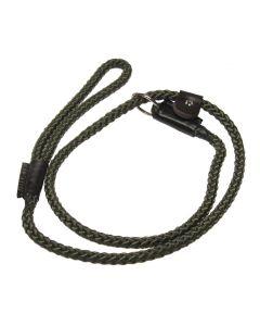 Bisley Olive Green Gundog Slip Lead - 8mm