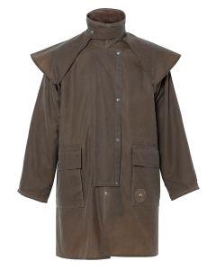 Driza-Bone Ranger Mid Length Oilskin Coat, Antique