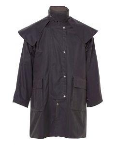Driza-Bone Unisex Three Quarter Length Coat, Brown
