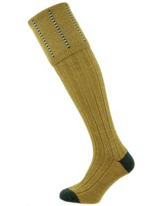 The Devonshire Sage Wool Shooting Sock