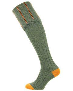 The Devonshire Lovat Wool Shooting Sock