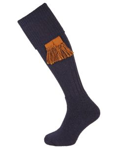 The Dinmore Midnight Cushion Foot Shooting Sock
