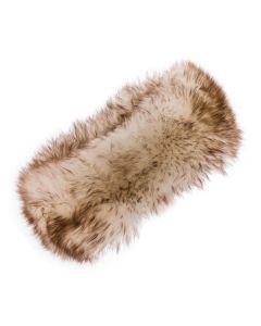 Women's Sheepskin Long Wool Headband