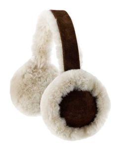 Sheepskin Ear Muffs, Brushwood