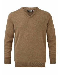 Driftwood | Glenmuir Men's Lomond Lambswool Vee Neck Sweater