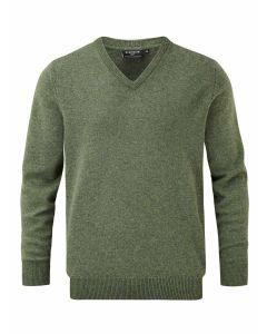 Landscape | Glenmuir Men's Lomond Lambswool Vee Neck Sweater