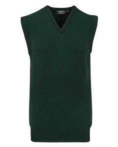 Tartan Green | Glenmuir Men's Windermere Lambswool Slipover