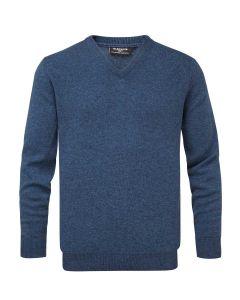 Rhapsody | Glenmuir Men's Lomond Lambswool Vee Neck Sweater