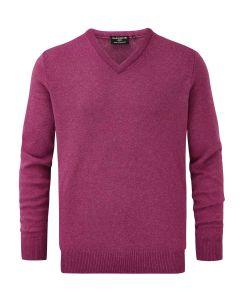 Vegas | Glenmuir Men's Lomond Lambswool Vee Neck Sweater