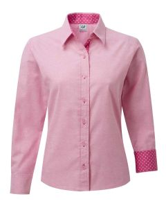 Grenouille Pink Oxford Cotton Shirt