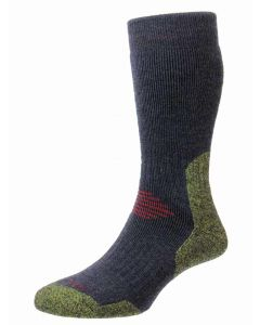 Navy/Lime| ProTrek Mountain Climb Walking Socks