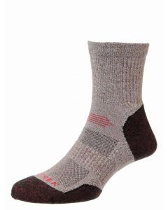 Brown Marl/Rust, ProTrek Light Hike Walking Socks
