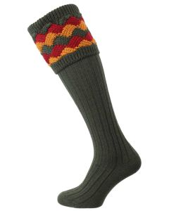 The Bowhill 'Spruce' Shooting Sock