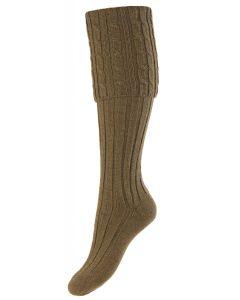 Dark Olive, Lady Harris Shooting Sock
