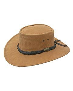 Jacaru Buffalo Leather Hat, Sand