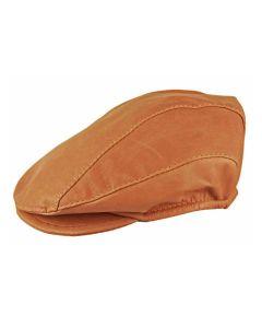 Jacaru Drivers Leather Cap Medium