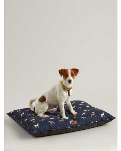 Joules Restwell Ped Bed, Coast Dog Print