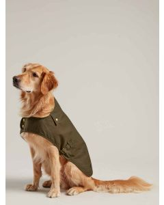 Joules Wax Dog Coat, Olive