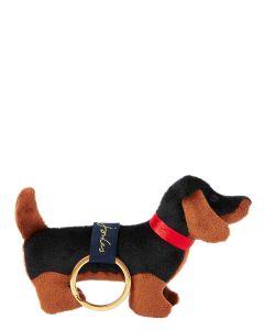 Joules Charmwell Velvet Dog Keyring 204969