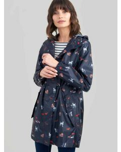 Navy Dogs, Joules Golightly Waterproof Jacket