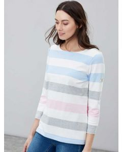 Joules Harbour Jersey Top, Blue Stripe | 200440