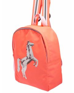 Pink Sequin Horse, Girls Rucksack from Joules