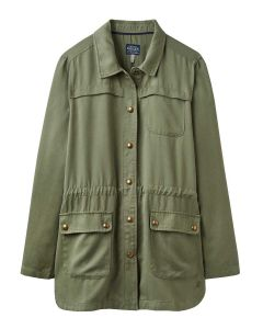 Joules Cassidy Safari Jacket, Soft Khaki