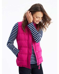 Joules Eastleigh Padded Gilet, Ruby