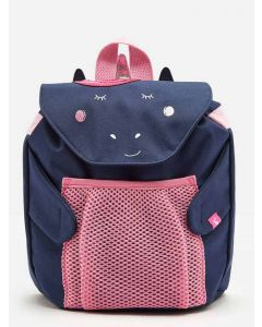Joules Girls Buddie Rucksack, Navy Unicorn