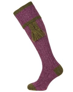 The Kyle Shooting Sock, Heather & Scotspine