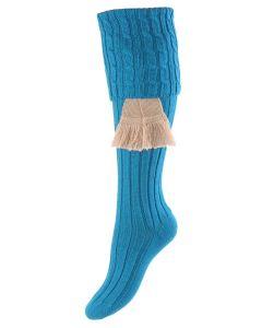 Ocean Blue, Lady Harris Shooting Sock