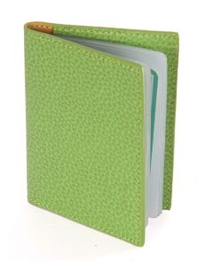 Laurige Leather Credit/Debit Card Holder - holds 12 cards - Light Green