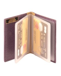 Laurige Leather Credit Card Holder