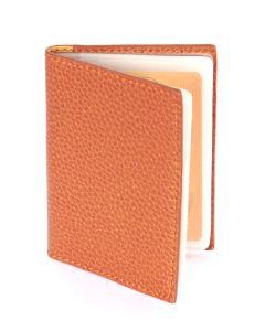 Laurige Leather Credit/Debit Card Holder - holds 12 cards - Gold