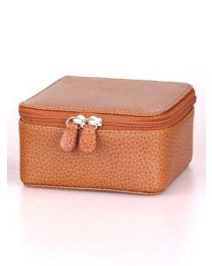 Laurige Leather Jewellery Box, Tan