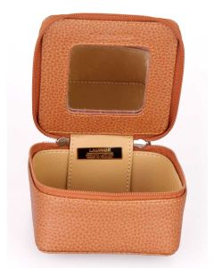 Laurige Leather Travel Jewellery Case